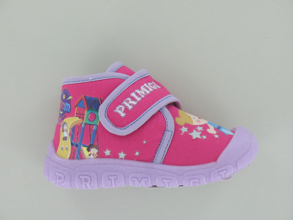 Fuchsia and Lilac Little kid Shoes
