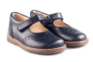 Navy Blue School Shoes