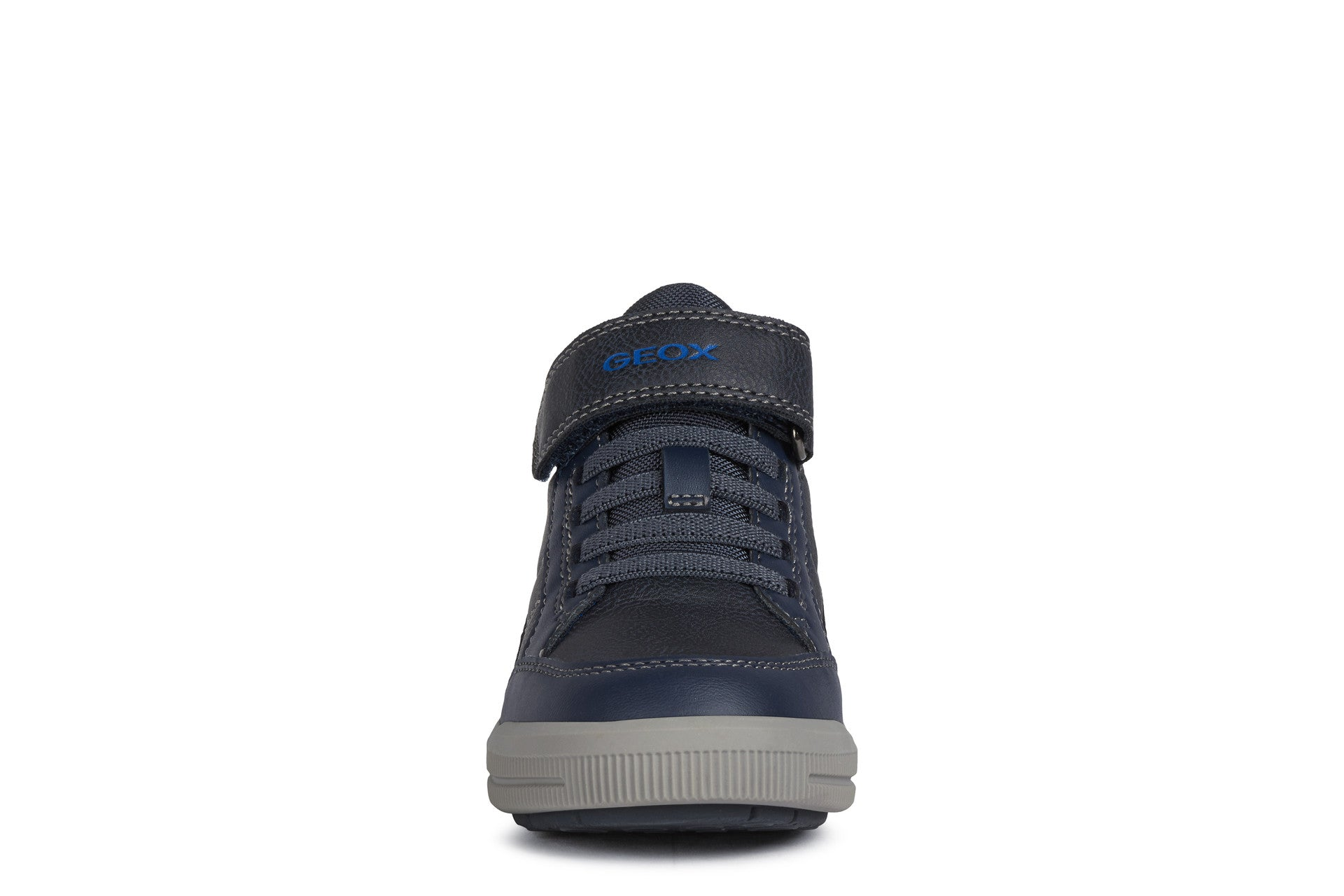 Navy Military High Top Sneaker