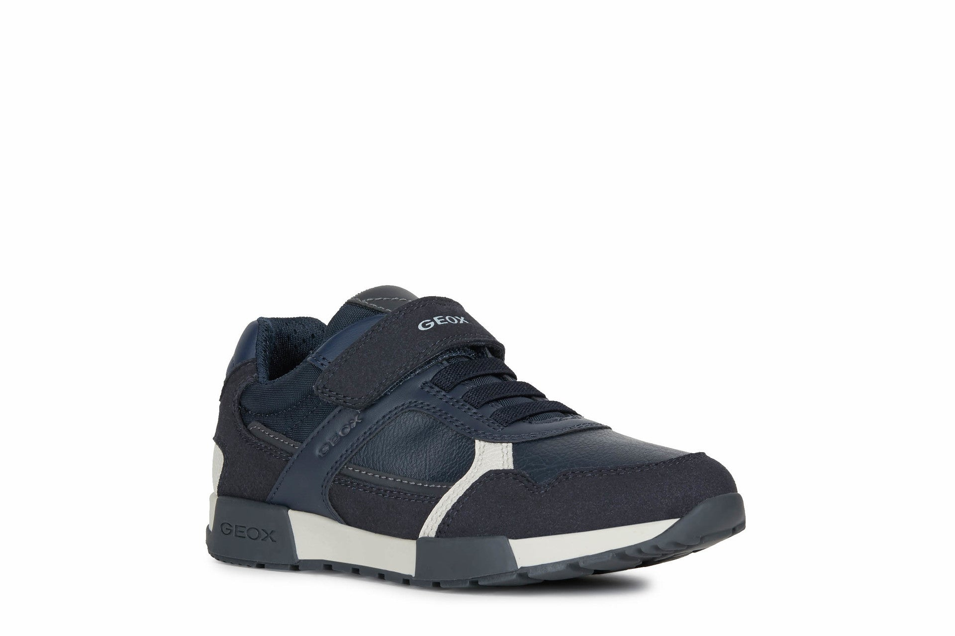 Navy Blue And Dark Grey Sole Sneaker