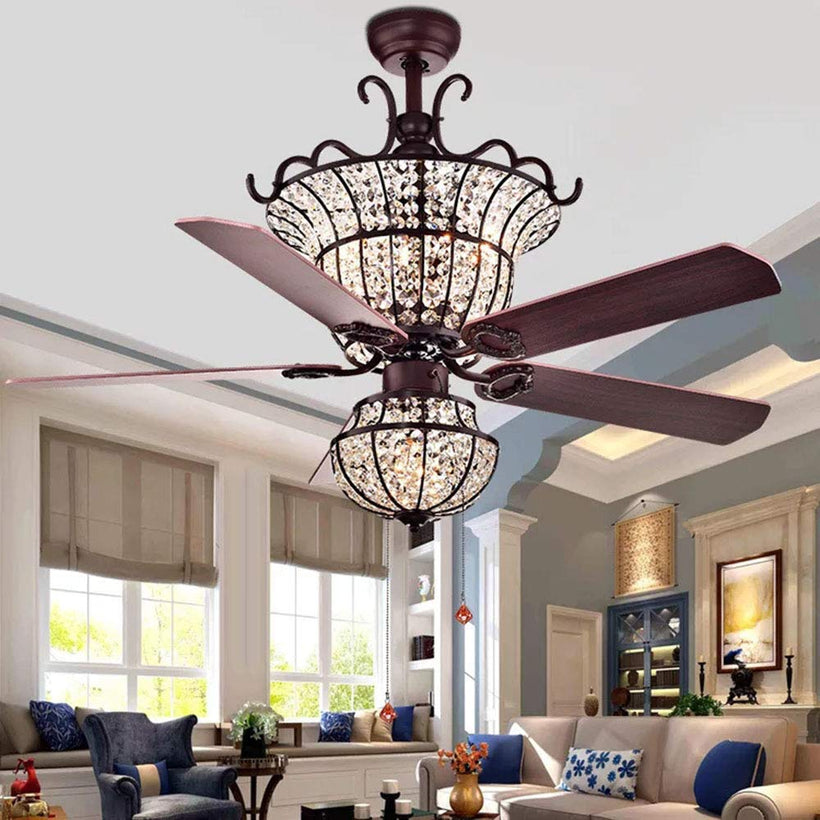 Wood Blades Ceiling Fan