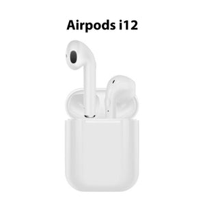 AirPods Wireless Earphones i12 For IOS and Android