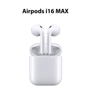 i16 Max TWS Airpod Bluetooth Earpiece True Wireless Headset