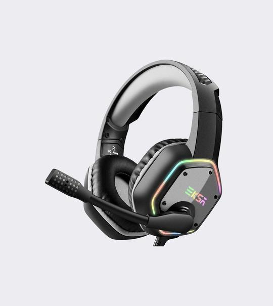 EKSA E1000 Plug-to-Play 7.1 Surround Sound Gaming Headset