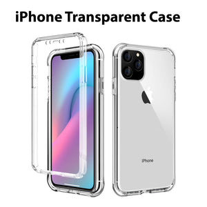 Shockproof iPhone Transparent Protection Case