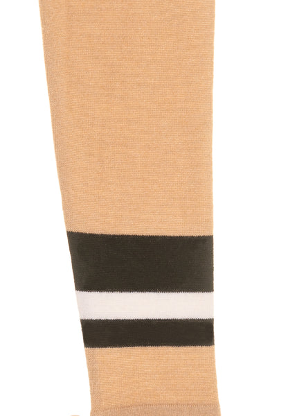 Box Jumper with Pleat and Arm Stripe