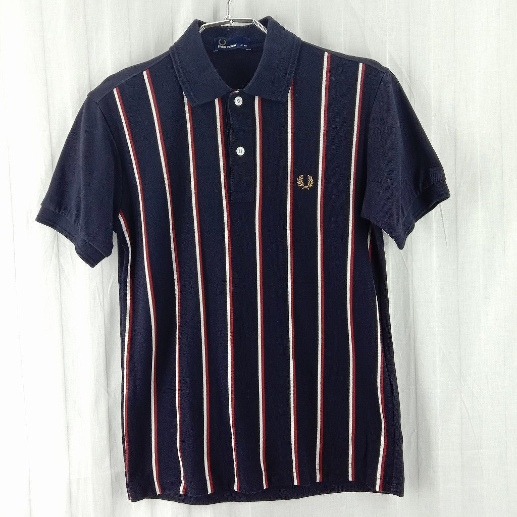 FRED PERRY ポロシャツ メンズ XS