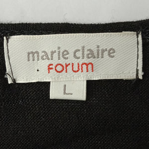 Marie Claire 長袖Tシャツ 長袖カットソー レディース L