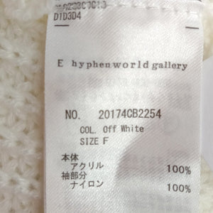 E hyphen world gallery ニット レディース FREE