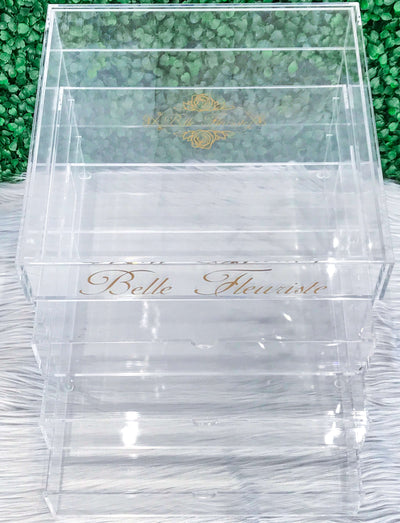 Custom Glitter Cosmetic Box Large