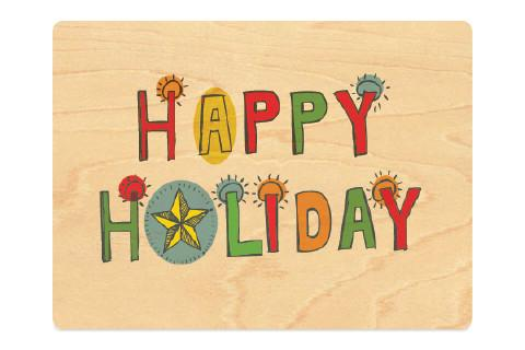 Happy Holiday with Star
