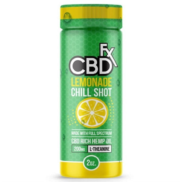 CannaBits&Bobs FX CBD Lemonade Chill Shot 20MG 60ML