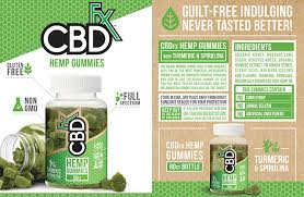 CBD GUMMIES WITH TURMERIC & SPIRULINA- 60ct - Bottle - 300mg