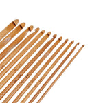 Load image into Gallery viewer, 12 Pcs Bamboo Crochet Hook Set