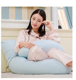 Load image into Gallery viewer, U Shape Full Body Pillow Pregnancy Maternity Sleep Pillow Cushion (100% Cotton)