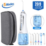 Load image into Gallery viewer, Portable Oral Irrigator Water Jet Floss Teeth Cleaner
