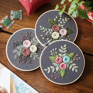 Ribbons Embroidery Kits Assorted Patterns