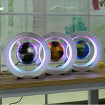 Load image into Gallery viewer, Magnetic Levitation Floating Globe with Colorful LED World Map