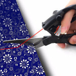 Load image into Gallery viewer, Pro Laser Guided Scissors For Home Crafts Paper Fabric Cutter with Battery