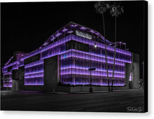 Load image into Gallery viewer, LA Night Out (Purple) - Canvas Print
