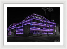 Load image into Gallery viewer, LA Night Out (Purple) - Framed Print