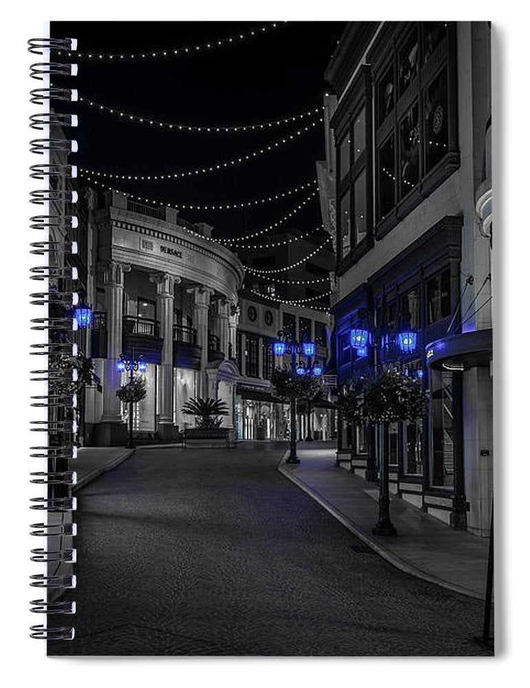 LA Night Out - Spiral Notebook