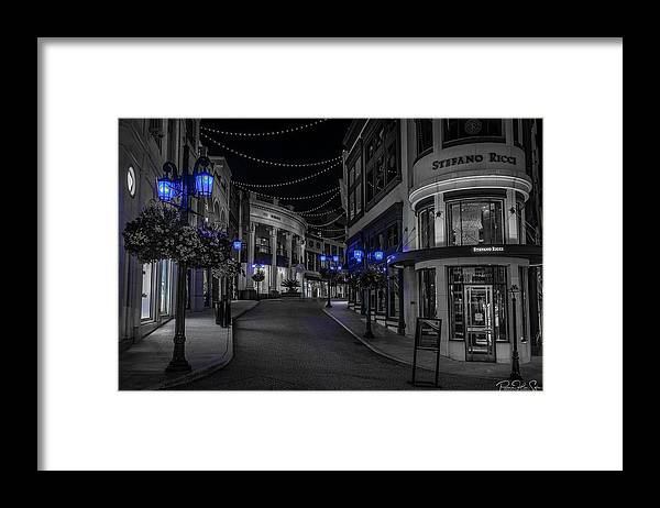 LA Night Out (Beverly Hills 2) - Framed Print