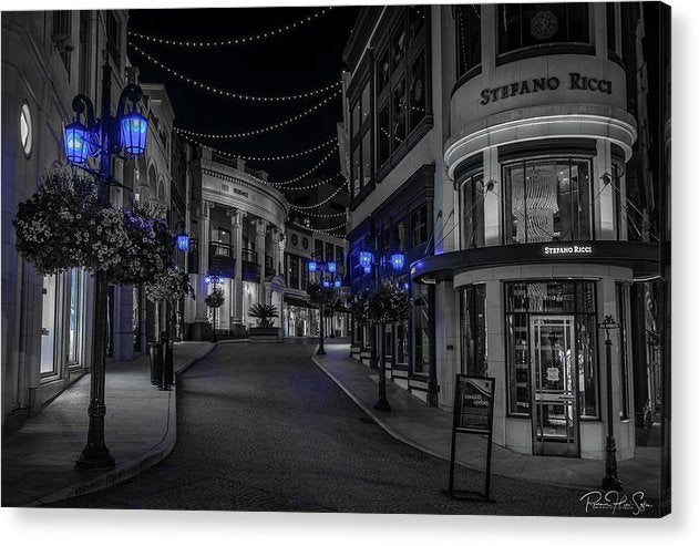 LA Night Out (Beverly Hills 2) - Acrylic Print