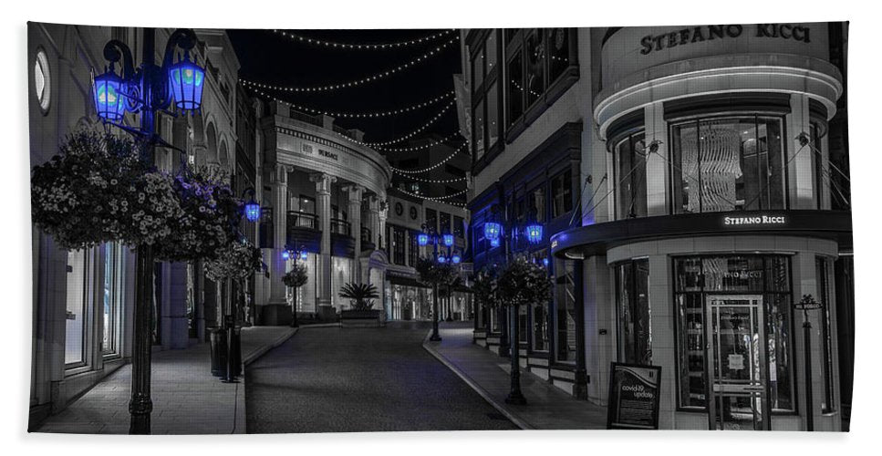 LA Night Out - Beach Towel