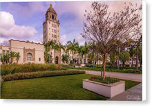 Load image into Gallery viewer, Beverly Hills City Hall 1 - Canvas Print