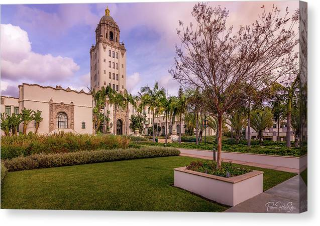 Beverly Hills City Hall 1 - Canvas Print