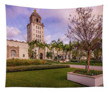 Load image into Gallery viewer, Beverly Hills City Hall 1 - Tapestry