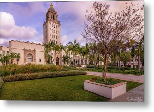 Beverly Hills City Hall 1 - Metal Print