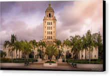 Load image into Gallery viewer, Beverly Hills City Hall 2 - Canvas Print