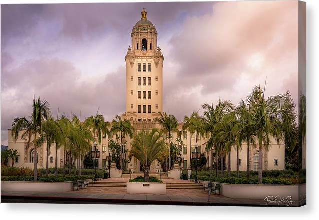 Beverly Hills City Hall 2 - Canvas Print