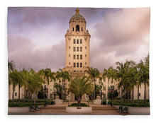 Load image into Gallery viewer, Beverly Hills City Hall 2 - Blanket