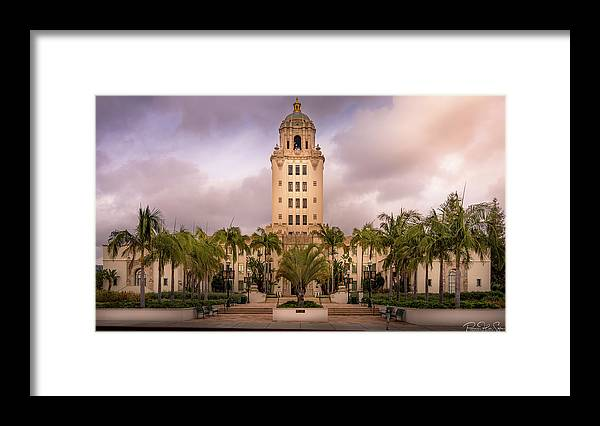 Beverly Hills City Hall 2 - Framed Print