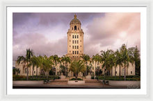 Load image into Gallery viewer, Beverly Hills City Hall 2 - Framed Print