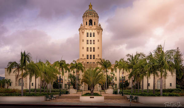 Beverly Hills City Hall 2 - Art Print