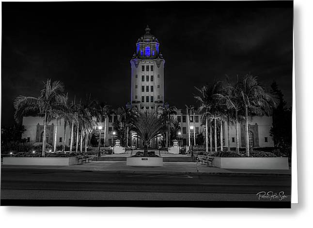 BH City Hall - Greeting Card