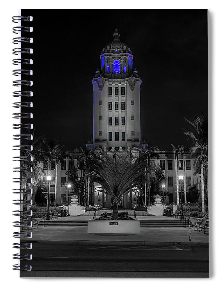 BH City Hall - Spiral Notebook