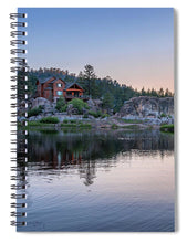 Load image into Gallery viewer, Big Bear Lake Sunset - Spiral Notebook