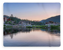 Load image into Gallery viewer, Big Bear Lake Sunset - Blanket