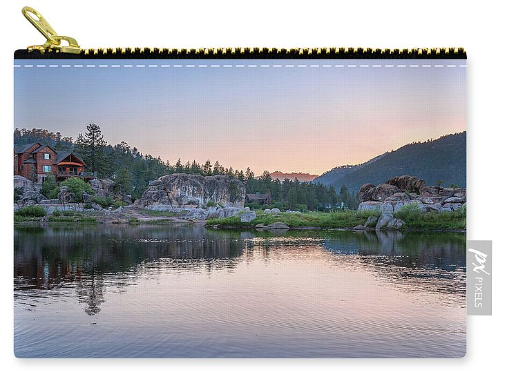 Big Bear Lake Sunset - Carry-All Pouch