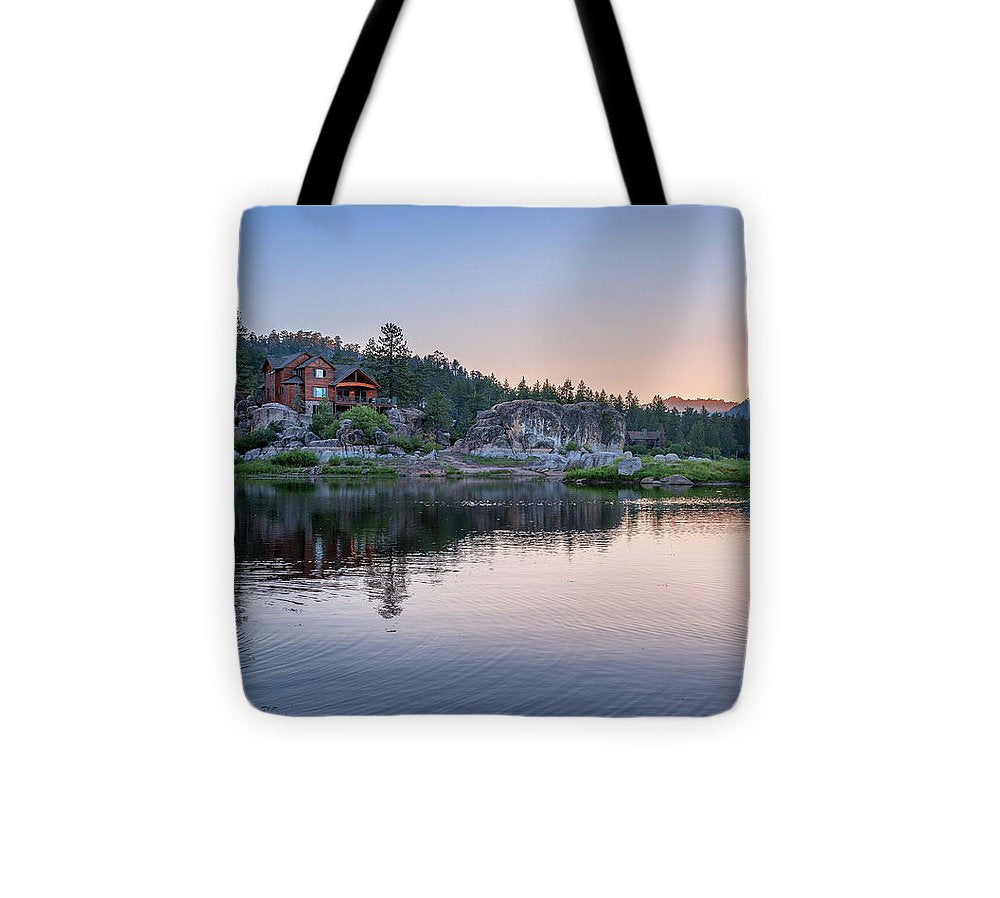 Big Bear Lake Sunset - Tote Bag