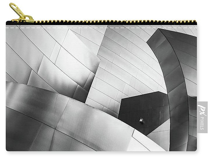 Black and White Curves - Carry-All Pouch