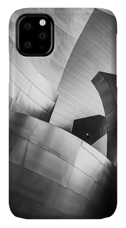 Black and White Curves - Phone Case