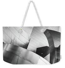 Load image into Gallery viewer, Black and White Curves - Weekender Tote Bag