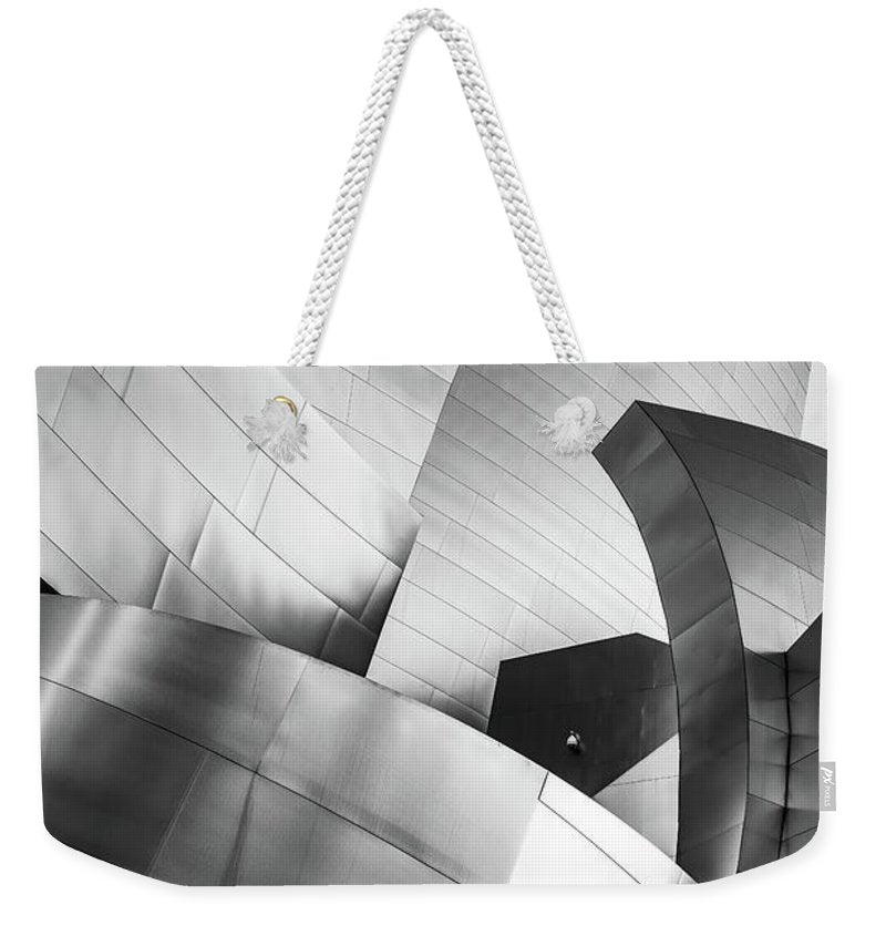 Black and White Curves - Weekender Tote Bag