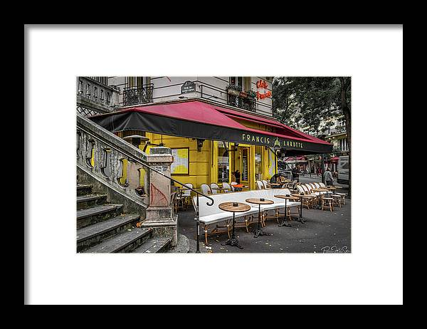 Coffee Time - Framed Print